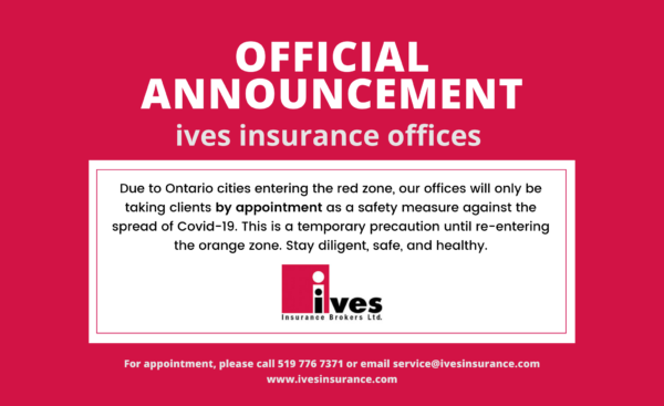 Red Zone: Announcement from our local offices